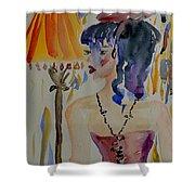 Showgirl Shower Curtain