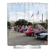 Showing The Ride Shower Curtain