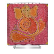 Shree Ganesh Shower Curtain