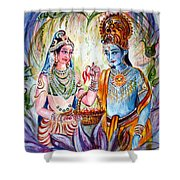 Shree Sita Ram Shower Curtain