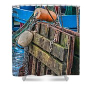 Shrimpboat Tools Of The Trade Shower Curtain