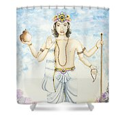 Shukra Venus Shower Curtain