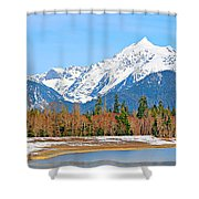 Shuksan Shower Curtain