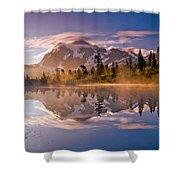 Shuksan Sunrise Shower Curtain