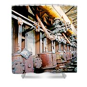 Shutdown Old Coking Plant Shower Curtain