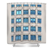 Shutting Blue Skies Out Shower Curtain