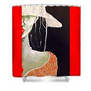 Bewildered Shower Curtain