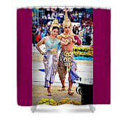 Siam Culture Dance Shower Curtain