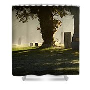 Sibley Cemetery Shower Curtain