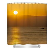 Sicilian Dawn Shower Curtain