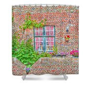 Side Garden Shower Curtain