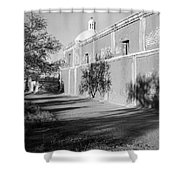 Side View Mission San Jose De Tumacacori Tumacacori Arizona 1979 Shower Curtain
