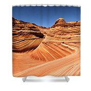 Side Wave Shower Curtain