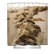Side Winding Shower Curtain
