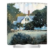 Side Yard Shower Curtain