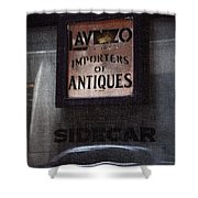 Sidecar Shower Curtain