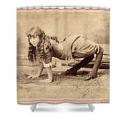 Sideshow Camel Girl, 1886 Shower Curtain