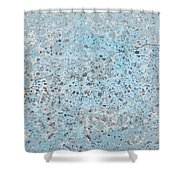Sidewalk Abstract-12 Shower Curtain