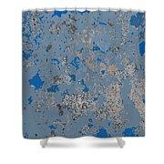 Sidewalk Abstract-17 Shower Curtain