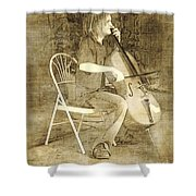 Sidewalk Virtuoso Shower Curtain
