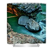 Sidewinder Shower Curtain
