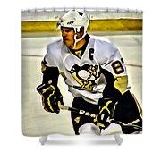 Sidney Crosby Shower Curtain