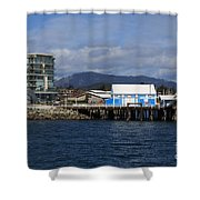 Sidney Harbour On Vancouver Island Shower Curtain