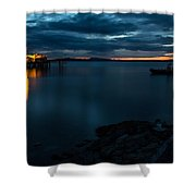 Sidney Sunrise Shower Curtain