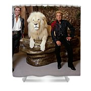 Siegfried And Roy Shower Curtain