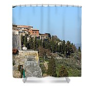 Siena 3 Shower Curtain