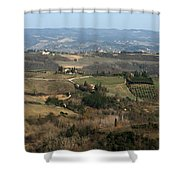 Siena 4 Shower Curtain