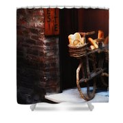 Siena Bakery Shower Curtain