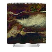 Sienna Cotton Fields  Shower Curtain
