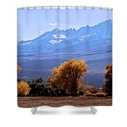 Sierra Autumn Gold Shower Curtain