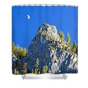 Sierra Moonrise Shower Curtain