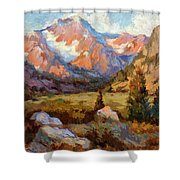Sierra Nevada Mountains Shower Curtain