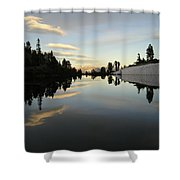 Sierra Reflection II Shower Curtain