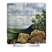 Sierra San Jose From Montezuma Pass Shower Curtain