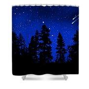 Sierra Stars Wall Mural Shower Curtain