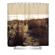 Sierra Sunrise Shower Curtain