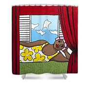 Siesta 2 Shower Curtain