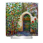 Siesta Key Archway Shower Curtain