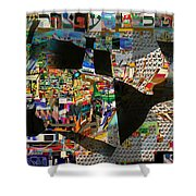 Sighting Towards A Full Redemption 3d Shower Curtain
