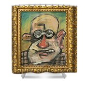 Sigmund Mit Frame Shower Curtain