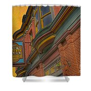 Sign - Frederick Inn Steakhouse And Lounge Shower Curtain