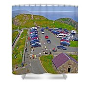 Signal Hill National Historic Site In Saint John's-nl Shower Curtain