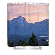 Signal Mountain Grand Teton National Park Shower Curtain