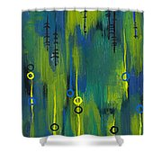 Signals Shower Curtain