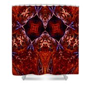 Signs In The Sky Shower Curtain