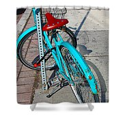Signs Of Parking At Sundown Shower Curtain